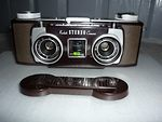 Kodak Eastman: Stereo-Kodak 35 (brown) camera