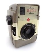 Kodak Eastman: Brownie Bulls-Eye gold camera