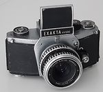 Ihagee: Exakta VX 500 (chrome base plate) camera