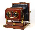 Houghton: Victo Stereo (Triple Victo Stereo) camera