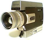 canon: auto zoom 518 super 8 camera