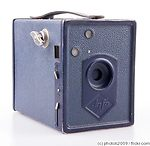 AGFA: Box 44 (Preisbox blue) camera