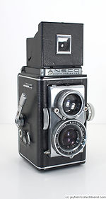 Ansco: Automatic Reflex Model II camera