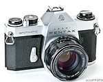 Asahi: Honeywell Pentax Spotmatic (SP) II camera