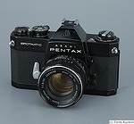 Asahi: Pentax Spotmatic (SP) II (black) camera