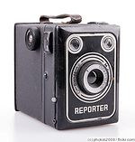 Braun Carl: Reporter Box camera