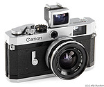 Canon: Canon P chrome camera