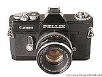 Canon: Pellix (black) camera