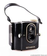 Gevaert: Geva Box (6x6) camera