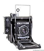 Graflex: Anniversary Speed Graphic camera