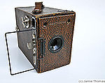 Houghton: Ensign 2 1/4 B RR (box, brown) camera