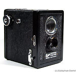 Houghton: Ensign Ful-Vue (box) camera