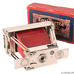 Houghton: Ensignette No.1 (nickel) camera