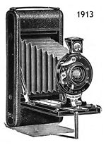 Houghton: Folding Ensign camera
