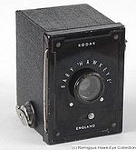 Kodak Eastman: Baby Hawk-Eye camera