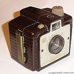 Kodak Eastman: Brownie Chiquita camera