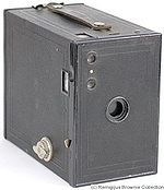 Kodak Eastman: Brownie No.2A Model C (UK) camera