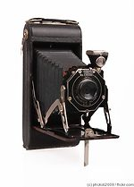Kodak Eastman: Brownie Pliant Six-16 camera
