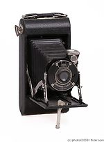 Kodak Eastman: Brownie Pliant Six-20 camera