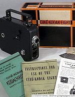 Kodak Eastman: Cine model 20 camera