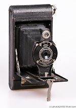 Kodak Eastman: Folding Cartridge Hawk-Eye No.2 Model C camera