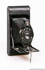 Kodak Eastman: Folding Hawk-Eye No.2A Model B camera