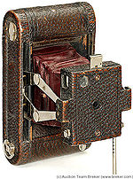 Kodak Eastman: Folding Pocket No.0 camera