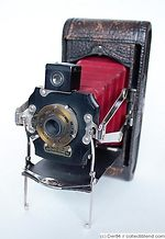 Kodak Eastman: Folding Pocket No.1A Mod C camera