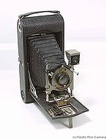 Kodak Eastman: Folding Pocket No.3A Mod C camera
