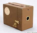 Kodak Eastman: Hawk-Eye No.2 Model C (Anniversary Edition) camera
