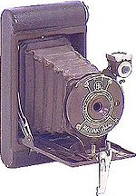 "Kodak Eastman: Petite ""Diamond Door"" camera"