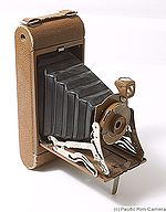 Kodak Eastman: Pocket Junior No.1A (colored) camera