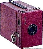 Kodak Eastman: Portrait Hawk-Eye No.2 camera
