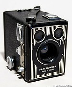 Kodak Eastman: Six-20 Brownie Model E camera