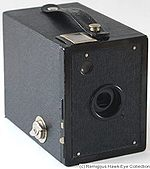 Kodak Eastman: Six-20 Hawk-Eye Special camera