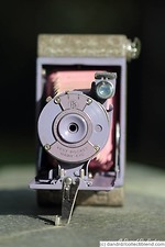 Kodak Eastman: Vest Pocket Rainbow Hawk-Eye (colored) camera