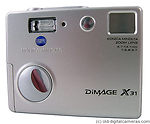 Konica Minolta: DiMAGE X31 camera