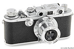 Leitz: Leica IIIa (Mod G) chrome camera