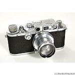 Leitz: Leica IIIb (Mod G) chrome camera