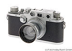 Leitz: Leica IIIc red curtain camera