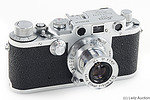 Leitz: Leica IIIc sharkskin camera