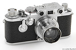 Leitz: Leica IIIf (red dial, self-timer, Wetzlar) camera