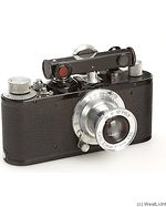Leitz: Standard (Mod E) black (chrome fittings) camera