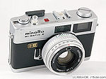 Minolta: Hi-matic E camera