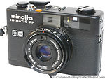 Minolta: Hi-matic FP camera