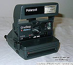 Polaroid: One Step 600 Flash Close-Up camera