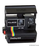 Polaroid: One Step 600 camera