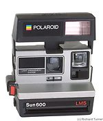 Polaroid: SUN 600 LMS camera