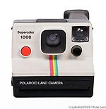Polaroid: Supercolor 1000 camera