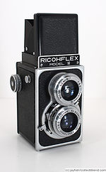 Riken: Ricohflex Model IV camera